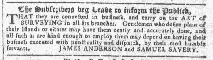 Nov 4 - 11:4:1767 Georgia Gazette
