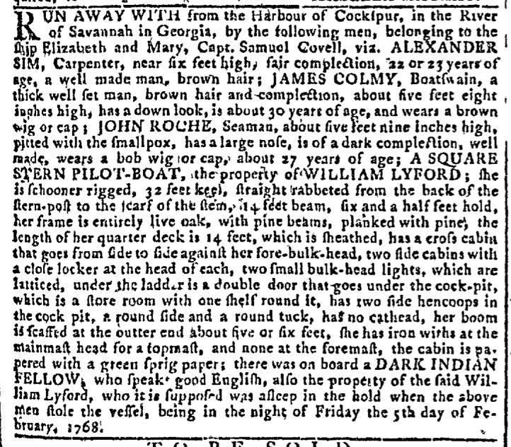 Feb 10 - Georgia Gazette Slavery 3
