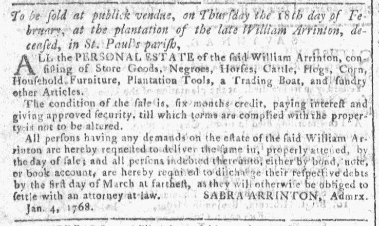 Feb 10 - Georgia Gazette Slavery 5