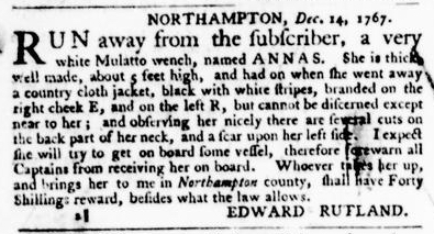 Feb 4 - Virginia Gazette Purdie and Dixon Slavery 5