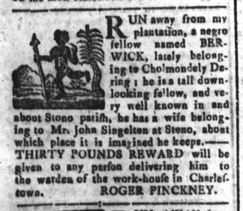 Feb 5 - South-Carolina and American General Gazette Slavery 7
