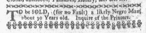 Feb 8 - Boston-Gazette Slavery 1