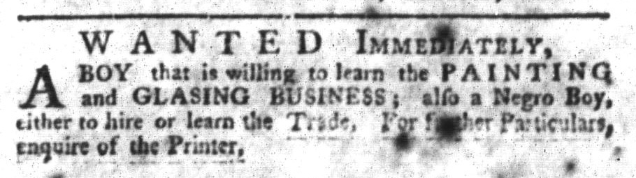 Feb 9 - South-Carolina Gazette and Country Journal Slavery 2