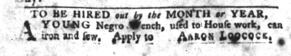 Feb 9 - South-Carolina Gazette and Country Journal Slavery 3