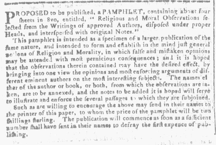 Jan 13 - 1:13:1768 Georgia Gazette