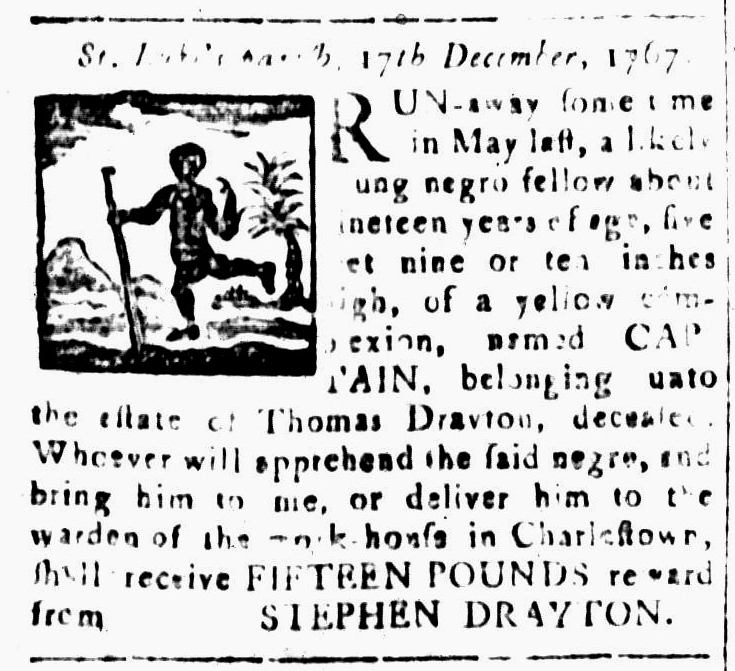 Jan 15 - South-Carolina and American General Gazette Slavery 10