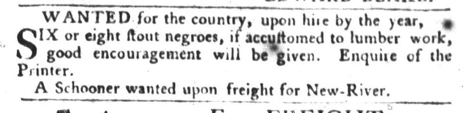 Jan 19 - South-Carolina Gazette and Country Journal Slavery 15