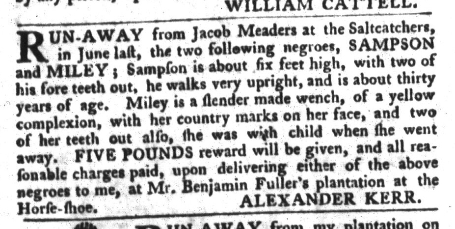 Jan 26 - 1:26:1768 South-Carolina Gazette and Country Journal