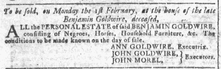 Jan 27 - Georgia Gazette Slavery 5