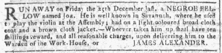 Jan 27 - Georgia Gazette Slavery 7