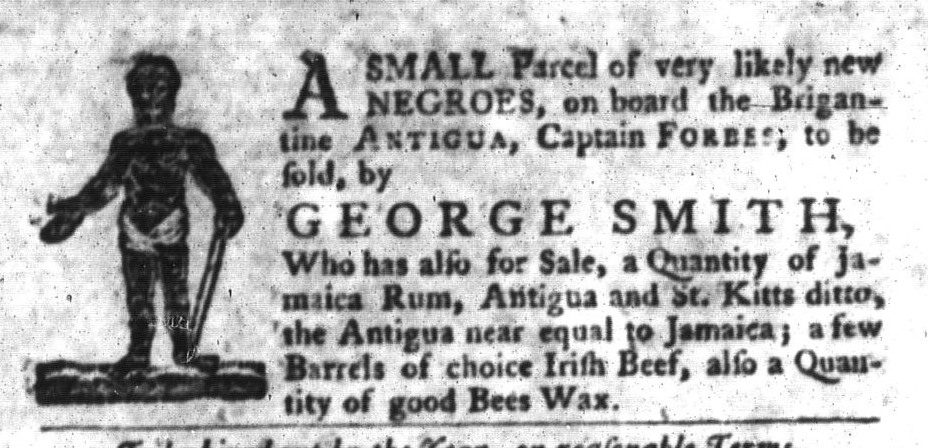 Jan 5 - South-Carolina Gazette and Country Journal Slavery 7