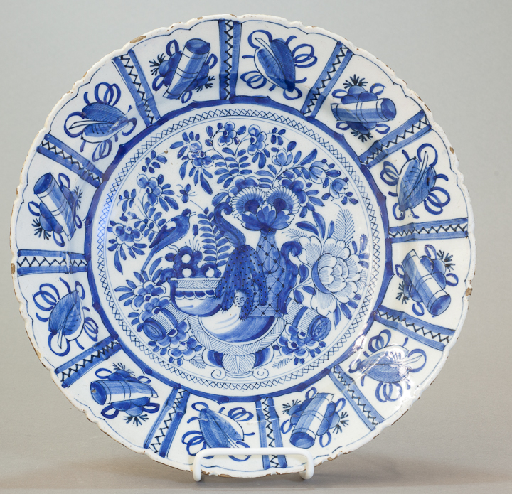 Jan 6 - Delftware Plate