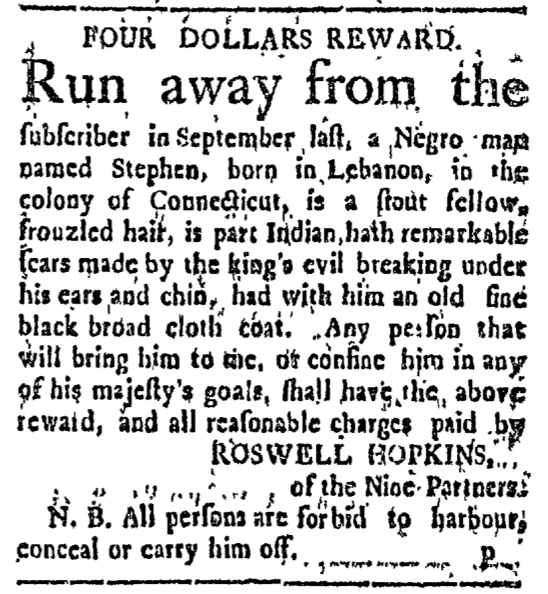 Feb 15 - Connecticut Courant Slavery 1