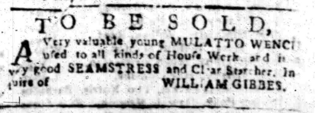 Feb 15 - South Carolina Gazette Slavery 11