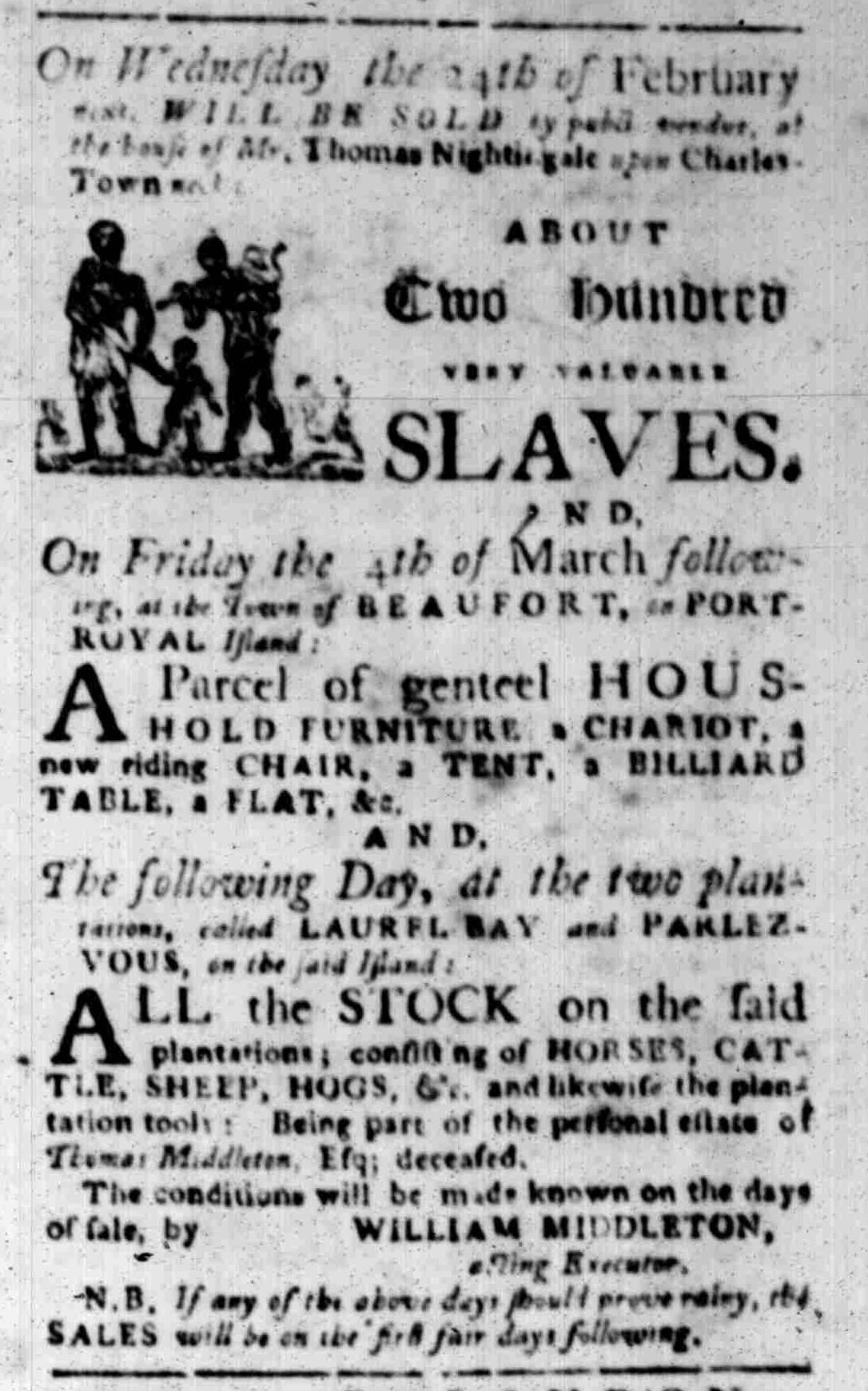 Feb 15 - South Carolina Gazette Slavery 8