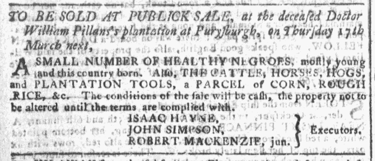 Feb 17 - Georgia Gazette Slavery 3