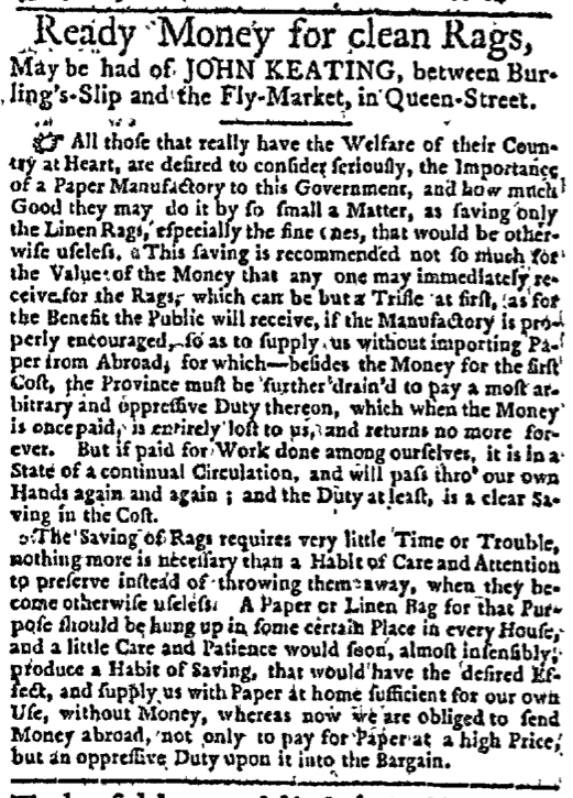 Feb 18 - 2:18:1768 New-York Journal