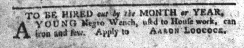 Feb 23 - South-Carolina Gazette and Country Journal Slavery 12