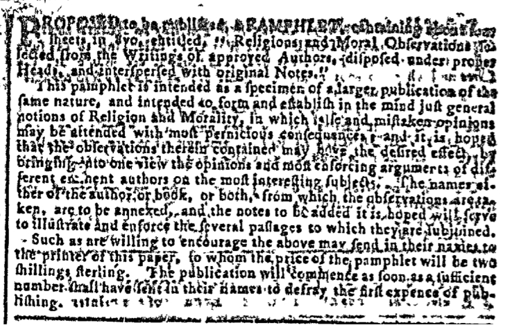 Feb 3 - 2:3:1768 Image 2 Georgia Gazette
