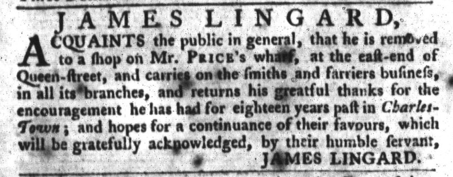 Feb 9 - 2:9:1768 South-Carolina Gazette and Country Journal