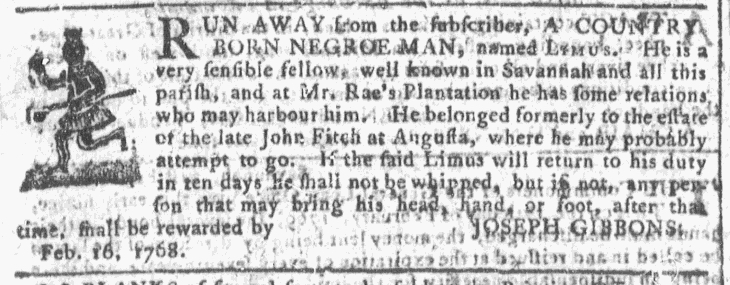 Mar 2 - Georgia Gazette Slavery 5