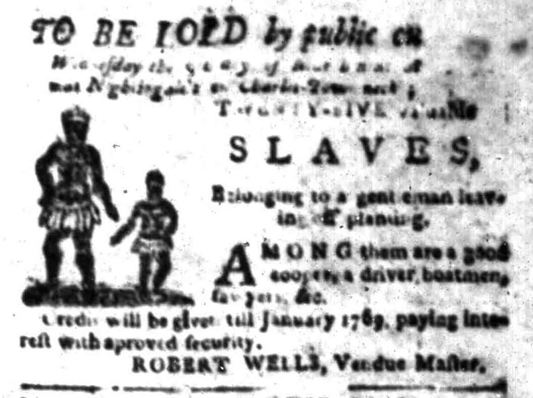 Mar 7 - South Carolina Gazette Slavery 8