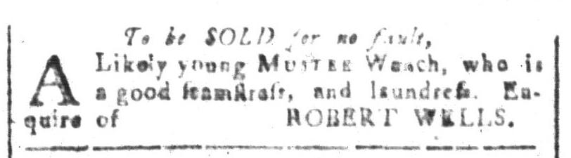 Apr 8 - South-Carolina and American General Gazette Slavery 1