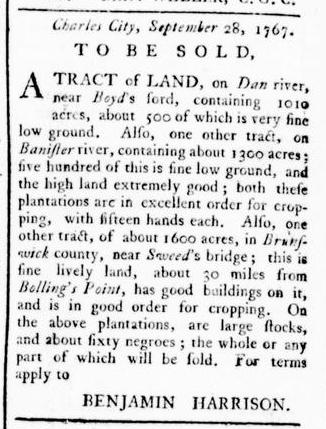 Mar 10 - Virginia Gazette Rind Slavery 6