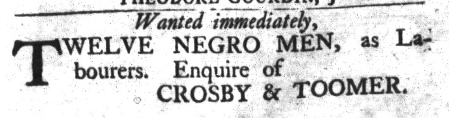 Mar 15 - South-Carolina Gazette and Country Journal Slavery 11