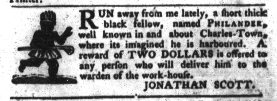 Mar 15 - South-Carolina Gazette and Country Journal Slavery 5