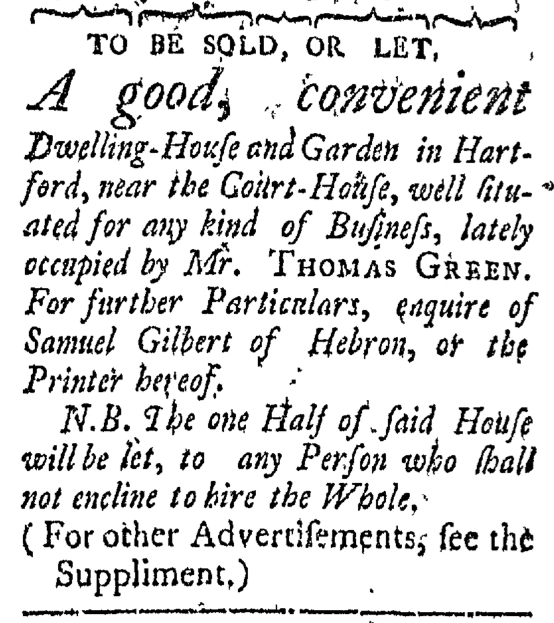 Mar 21 - 3:21:1768 Connecticut Courant