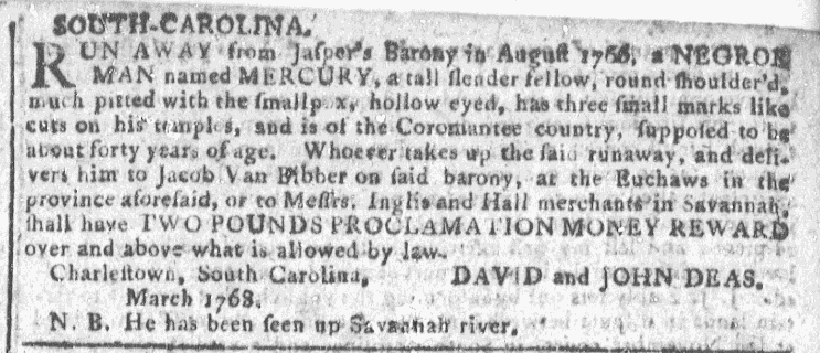 Mar 30 - Georgia Gazette Slavery 5