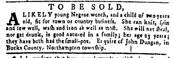 Mar 31 - Pennsylvania Gazette Slavery 2