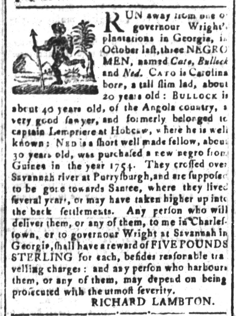 Mar 4 - South-Carolina and American General Gazette Slavery 7