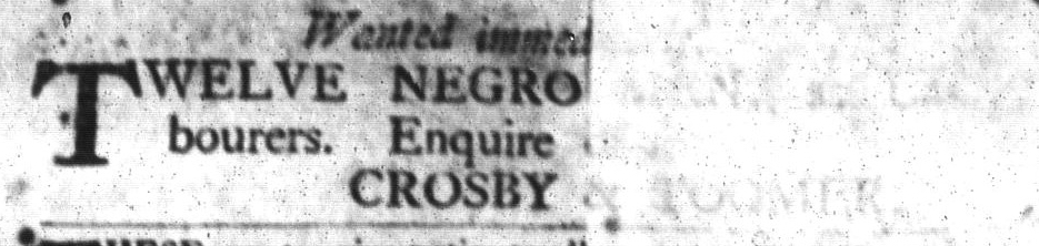Mar 8 - South-Carolina Gazette and Country Journal Slavery 4