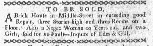 Apr 11 - Boston-Gazette Slavery 1