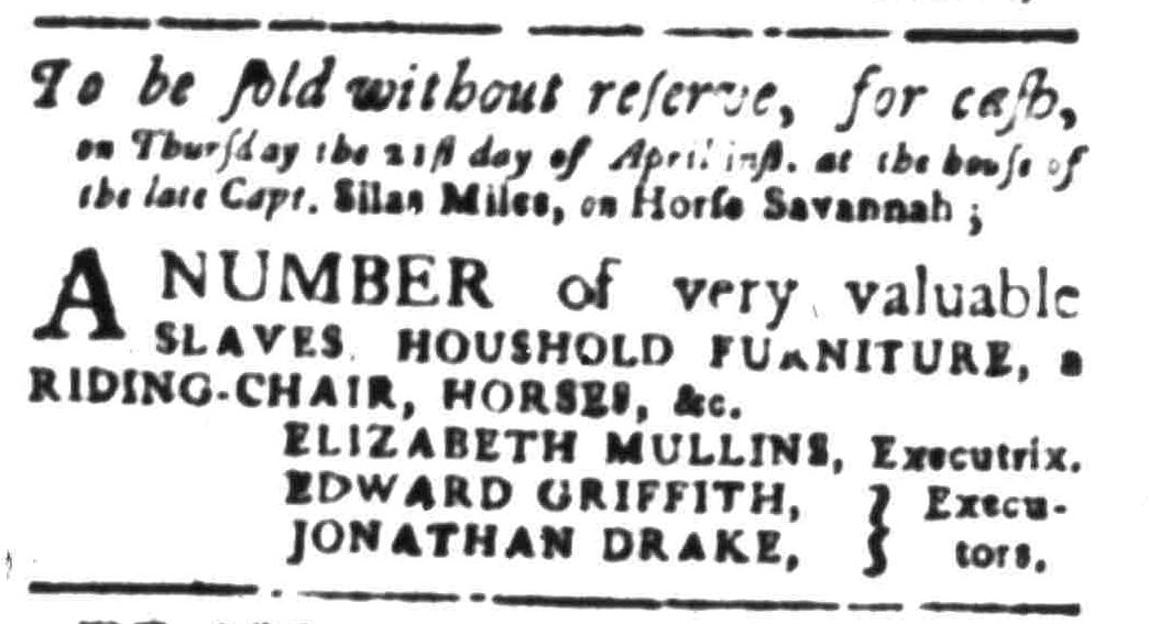 Apr 11 - South Carolina Gazette Slavery 8