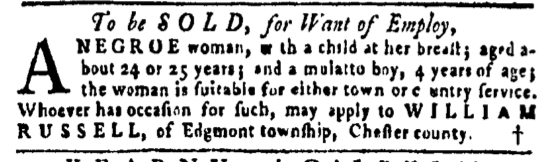 Apr 14 - Pennsylvania Gazette Slavery 3