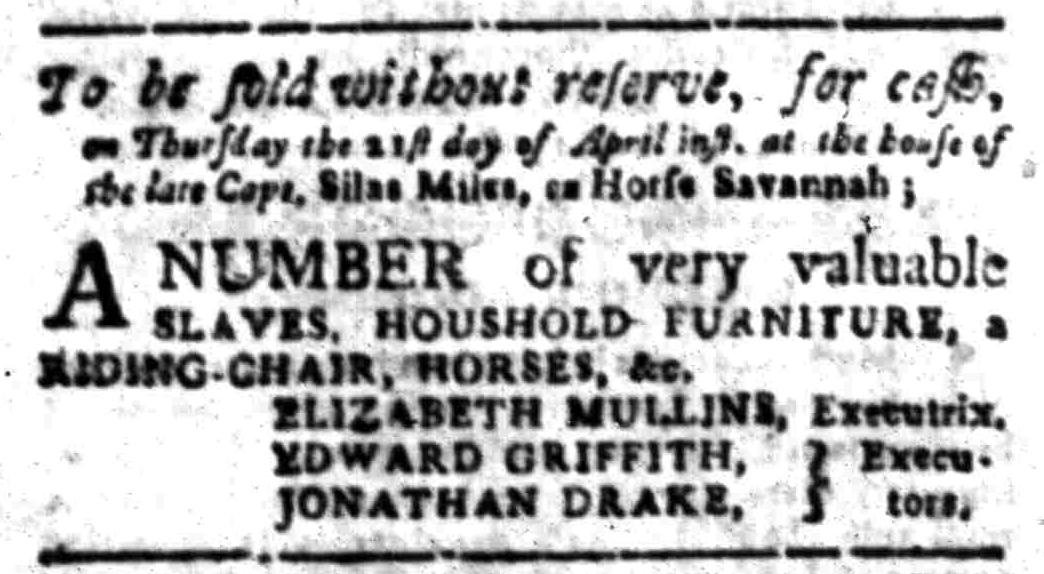 Apr 18 - South Carolina Gazette Slavery 8
