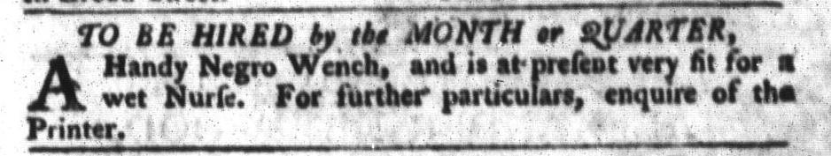 Apr 19 - South-Carolina Gazette and Country Journal Slavery 5