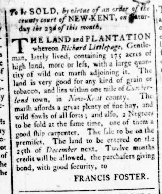 Apr 21 - Virginia Gazette Rind Slavery 2