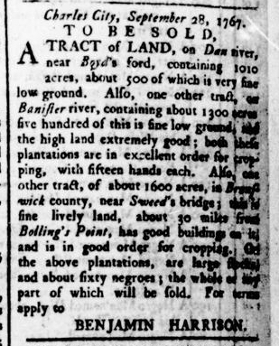 Apr 21 - Virginia Gazette Rind Slavery 4