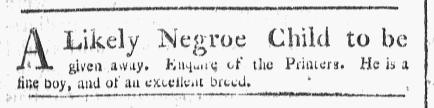 Apr 25 - Boston Chronicle Slavery 1