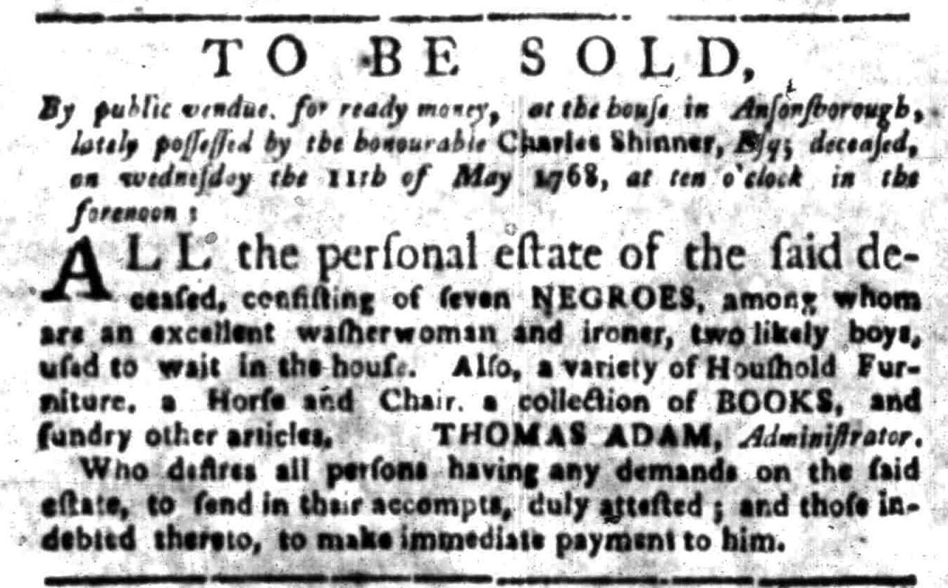 Apr 25 - South Carolina Gazette Slavery 4