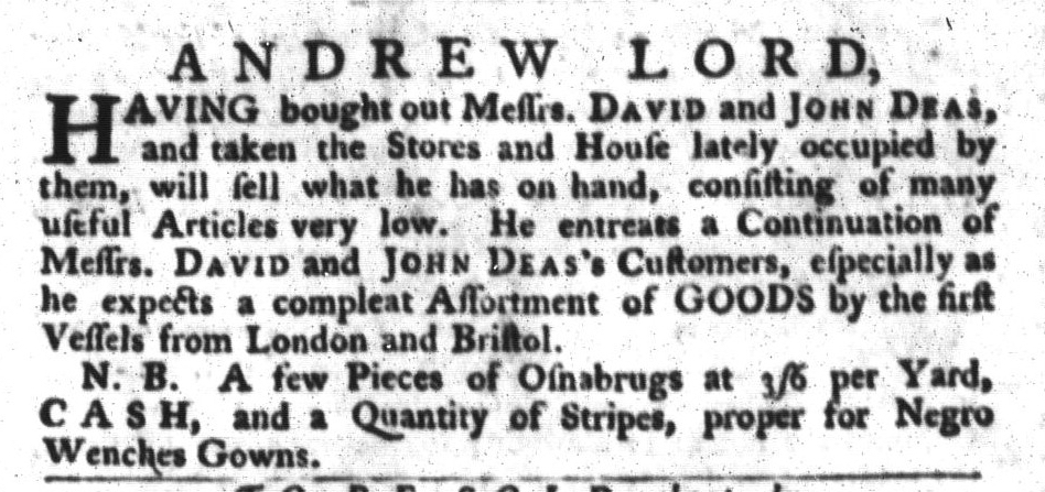 Apr 26 - 4:26:1768 South-Carolina Gazette and Country Journal