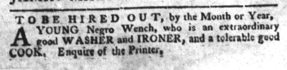 Apr 26 - South-Carolina Gazette and Country Journal Slavery 11