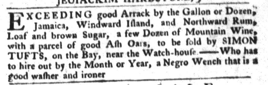 Apr 5 - South-Carolina Gazette and Country Journal Slavery 11