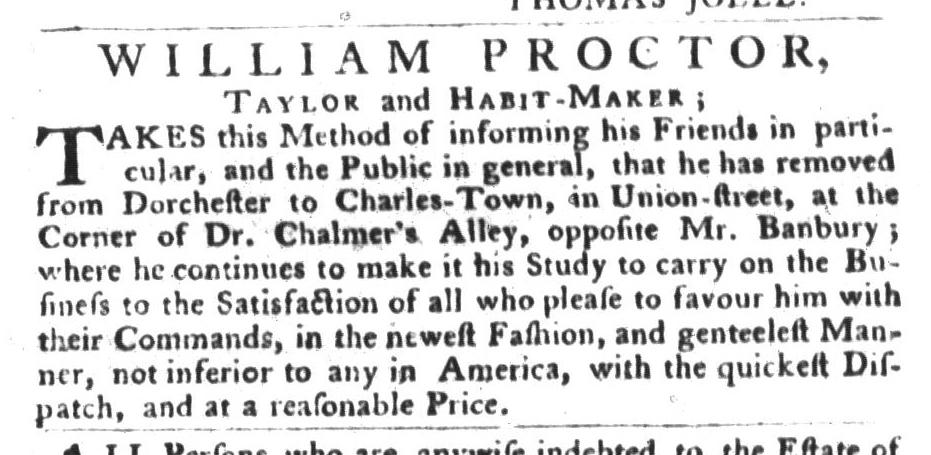 May 3 - 5:3:1768 South-Carolina Gazette and Country Journal