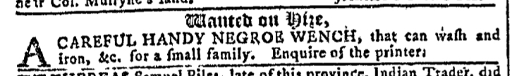 May 4 - Georgia Gazette Slavery 1