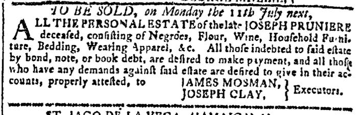Jun 1 - Georgia Gazette Slavery 3
